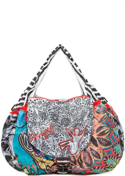 2ba3a0e4dcc0 Отдельное внимание стоит уделить новой коллекции сумок Desigual 2014 года,  в которой были представлены самые неординарные модели сумок и рюкзаков, ...